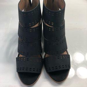 Black booties/sandals